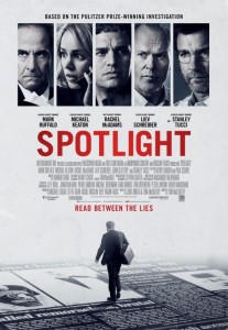 Poster from the Spotlight movie.